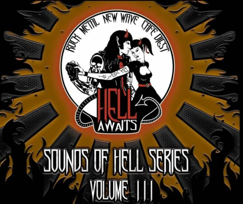 Sounds of Hell Series, Volume III compilation digipack compact disc.