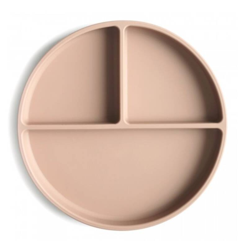 Mushie | Silicone Plate Natural