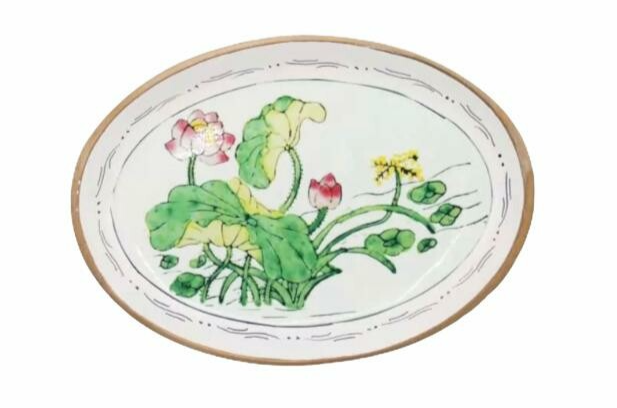 Doing Goods | Daisy Pink Plate