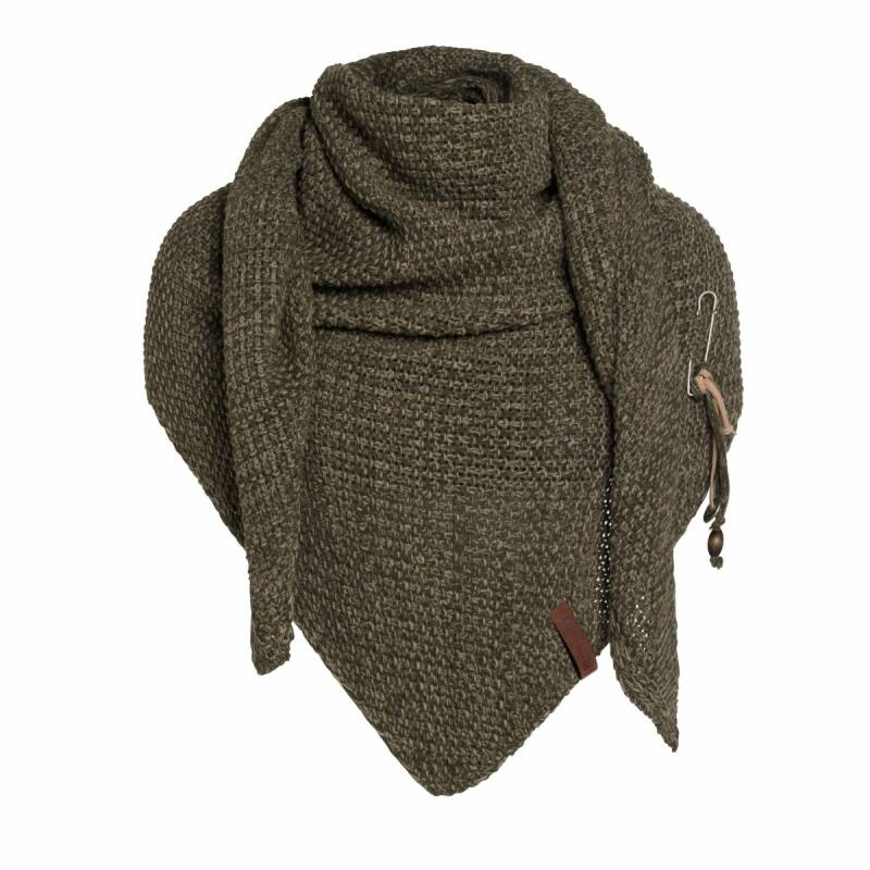 Coco omslagdoek Bruin/taupe