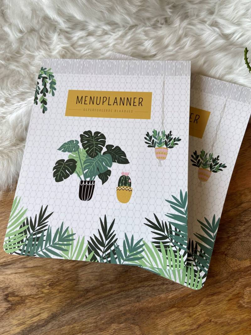 Menu weekplanner
