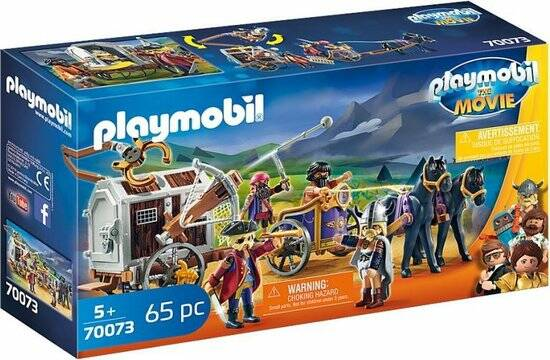 Playmobil THE MOVIE Charlie with prison car