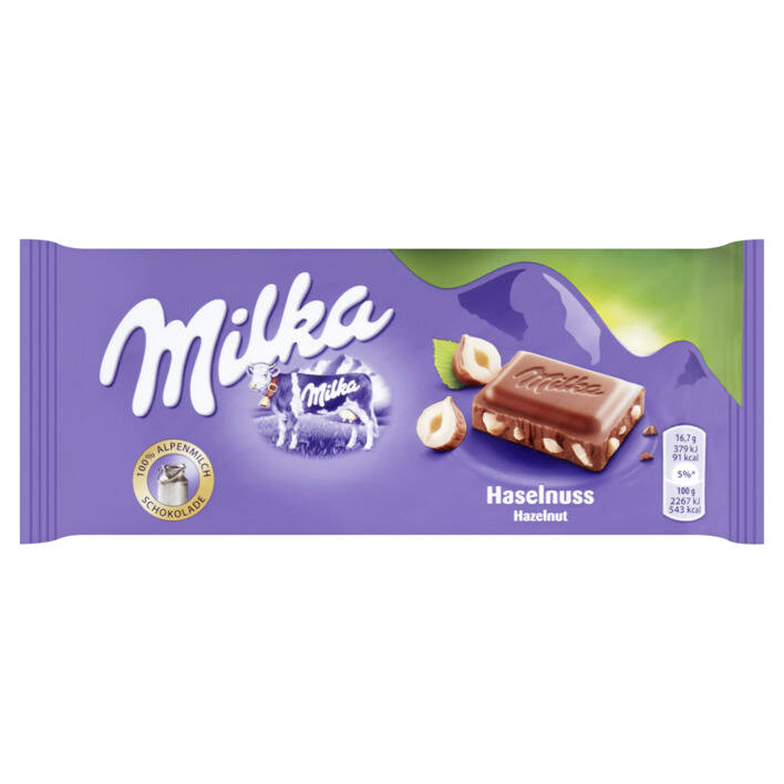 Milka Chocolate Bar (broken) Nut