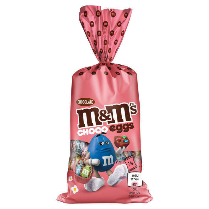 M&M'S Easter eggs filled with mini's