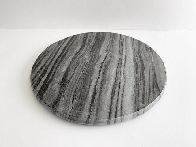 Marble plateau round
