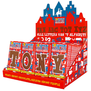 Tony's Chocolonely Letters 2=1
