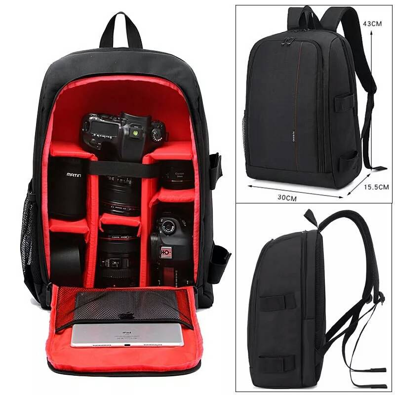 Camera tas waterproof large