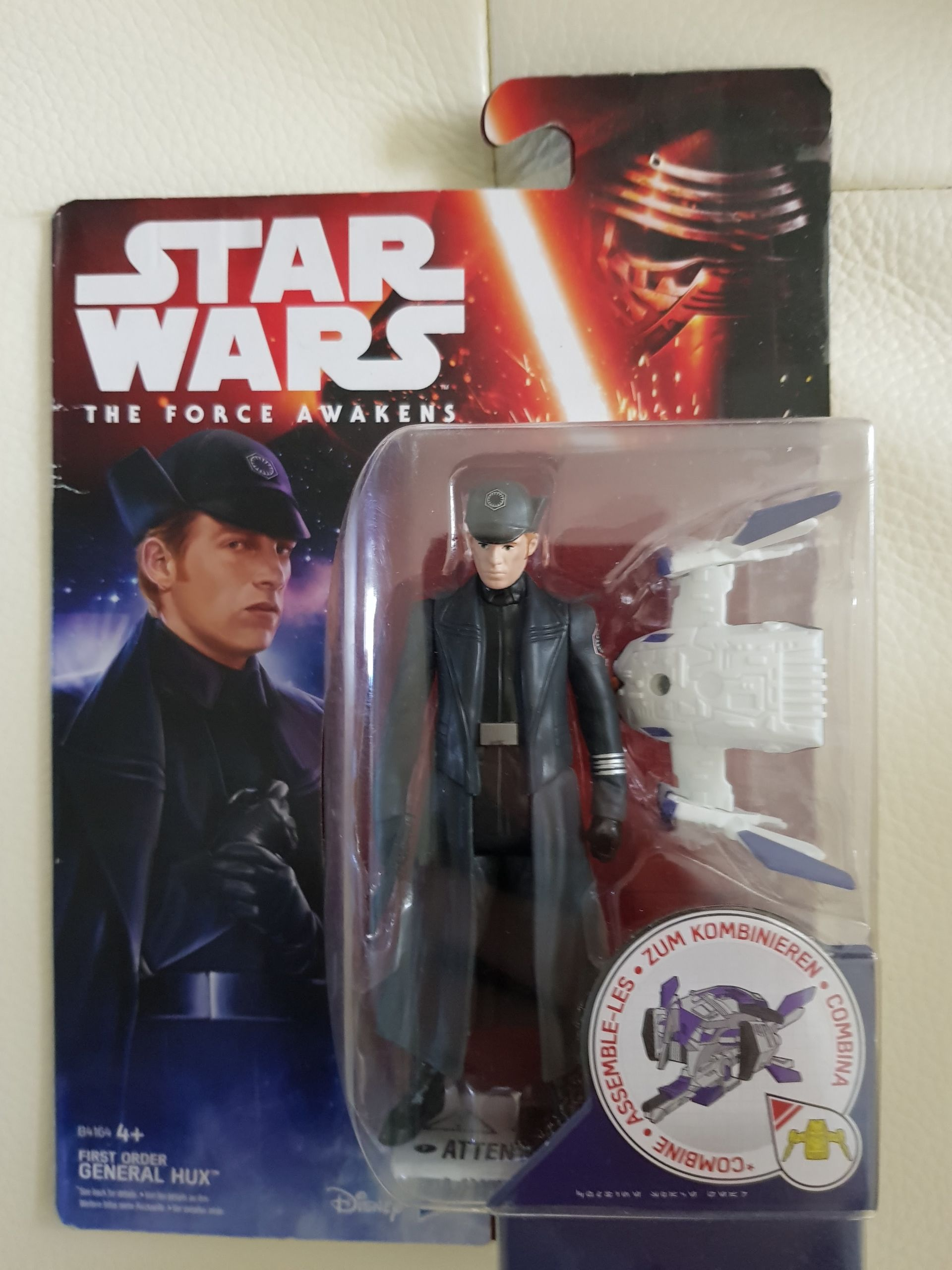 Star Wars The Force Awakens 3.75 Inch 2 Pack Snap Wexley and First Order Snowtr