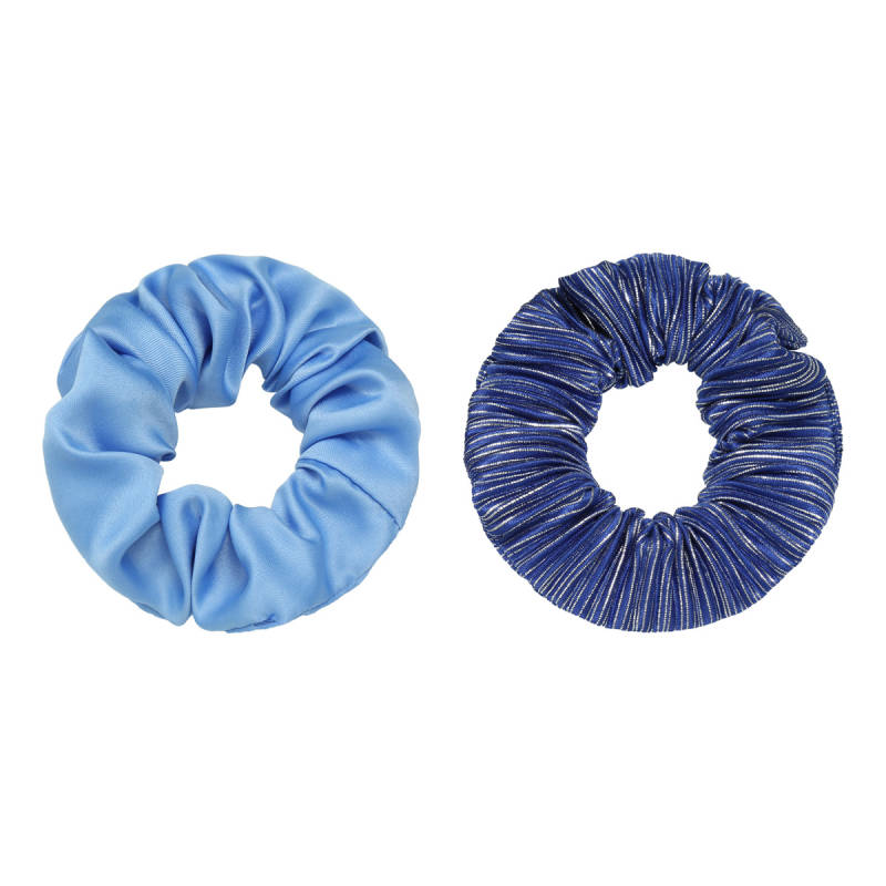 Scrunchie Blue Combo