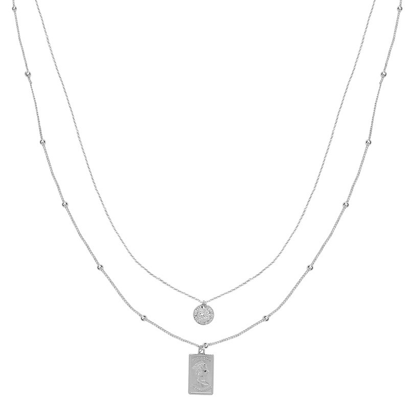 Necklace Elizabeth Silver