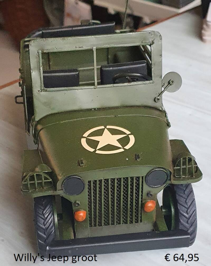 Willy's Jeep groot - auto