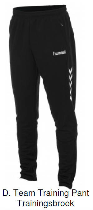 Team Training Pant Trainingsbroek