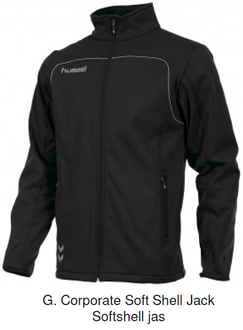 Corporate Soft Shell Jack Softshell jas