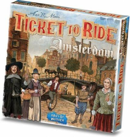 Ticket to Ride- Amsterdam