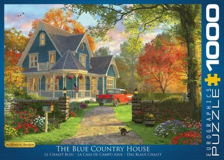 The Blue Country House - Dominic Davison (1000)