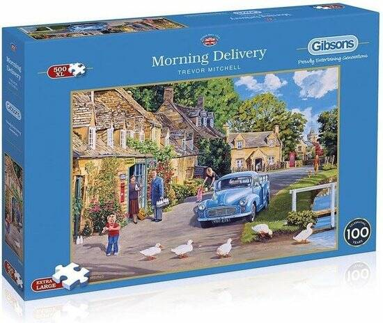 Gibsons Puzzel • Morning Delivery • Trevor Mitchell • 500XL
