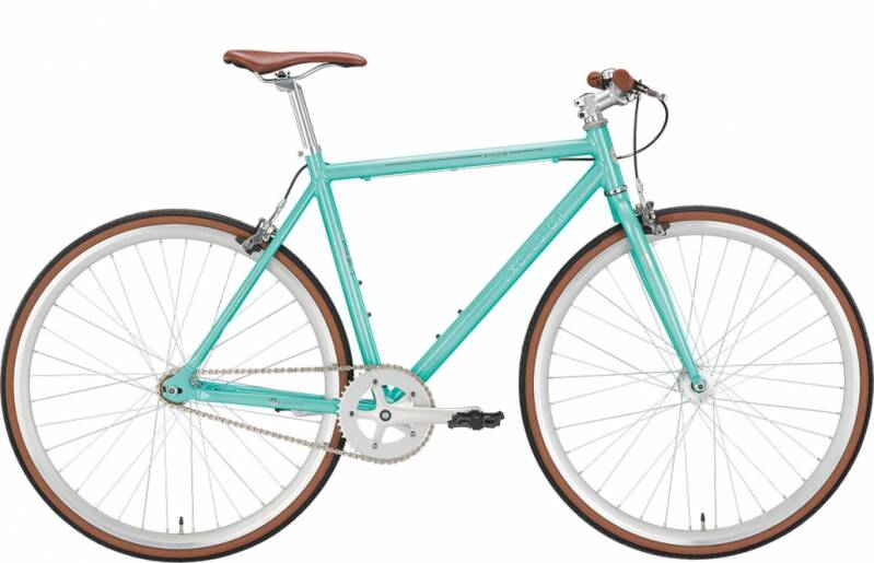 Online Only: Excelsior 1 speed 'racefiets', model Snatcher, mint of mat zwart meerdere maten
