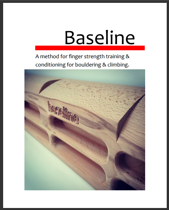 Baseline Finger Strength Training Manual for Bouldering