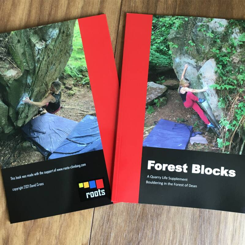 Forest Blocks. New bouldering in the Forest of Dean. (includes UK shipping)
