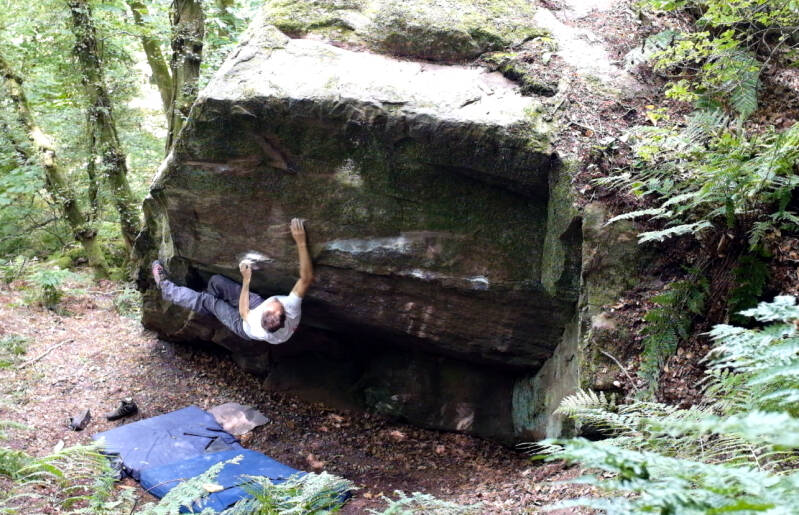 Forest Blocks. New bouldering in the Forest of Dean.