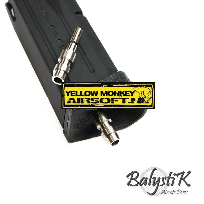 Balystik HPA valve aansluiting , suitable for MARUIGBB or GBBR.