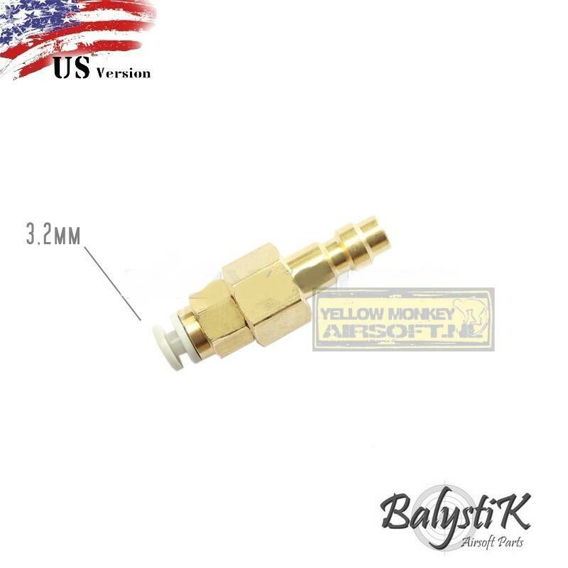 BalystiK male nippel voor 3,2mm macroline (US Version)