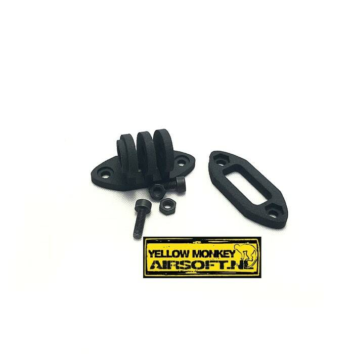 Gopro CTI mount zwart, actioncam adapter black