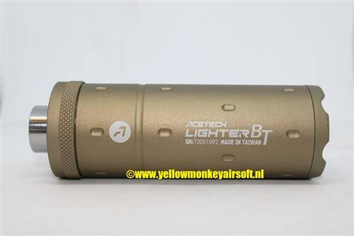 Acetech Lighter BT Tracer Tan Red and Green BBs