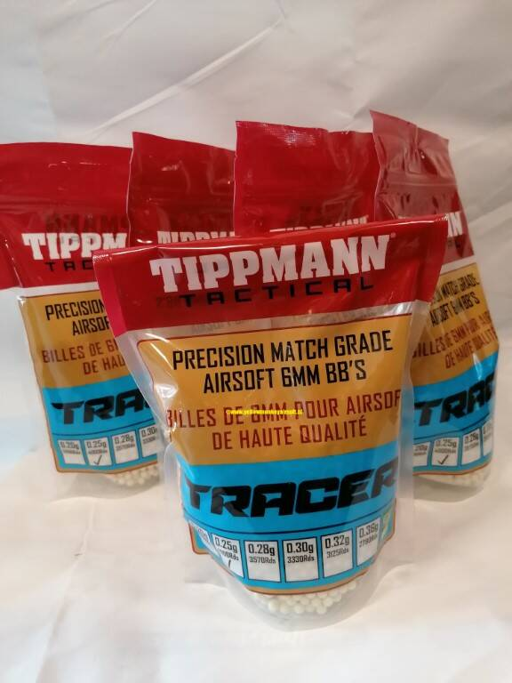 Tippmann airsoft 6mm BB Tracers 0,25