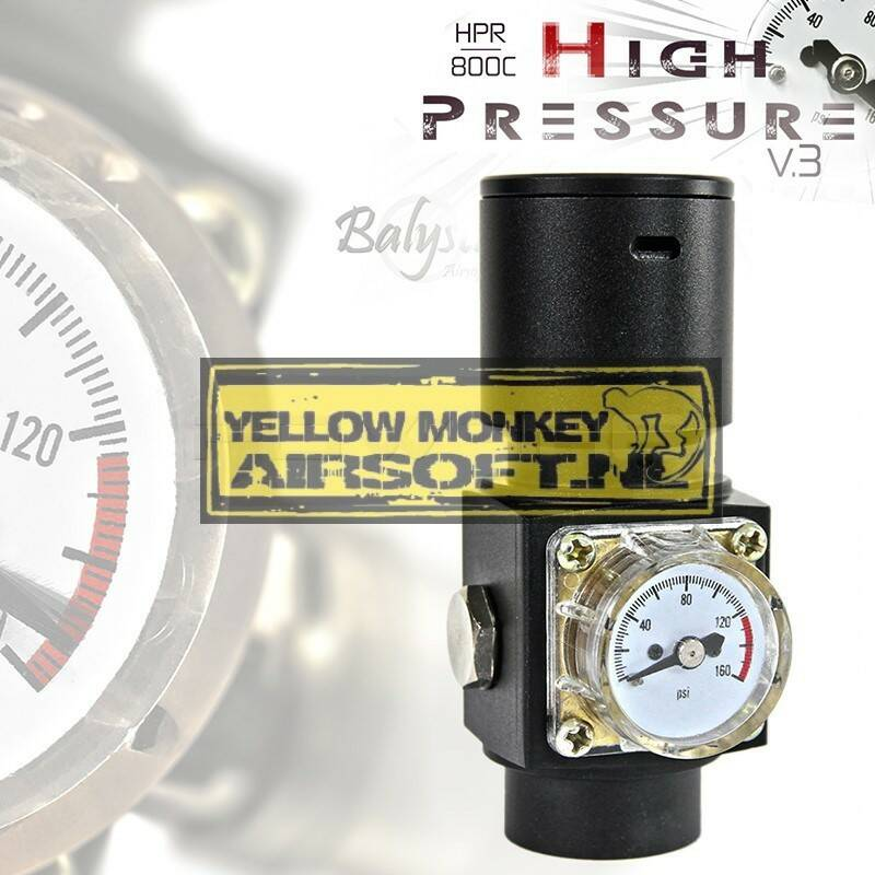 Balystik HPR800C V3 High pressure airsoft regulator