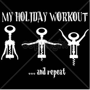 My holiday workout