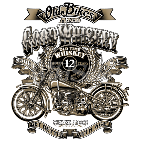 OLD BIKES & GOOD WHISKEY