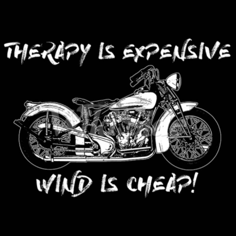 THERAPY IS EXPENSIVE WIND IS CHEAP