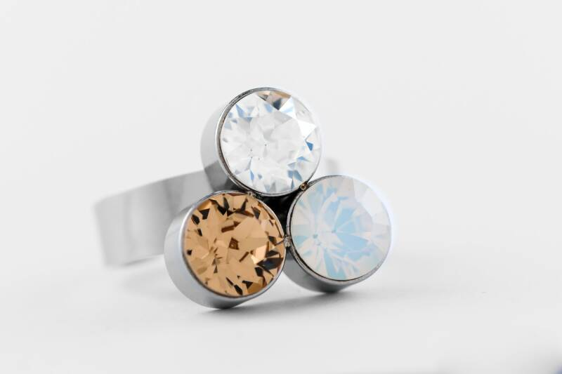 Friends Design Suzanne's Ring Topaas Mix