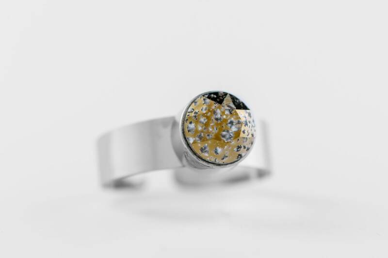Friends Design Tanja's Ring Clear Gold