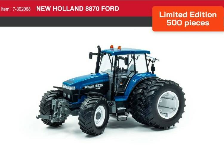 New Holland 8870 duals Lim.Ed  1;32