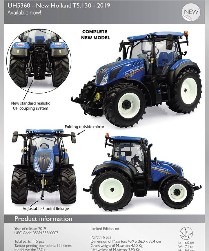 New Holland T 5-130