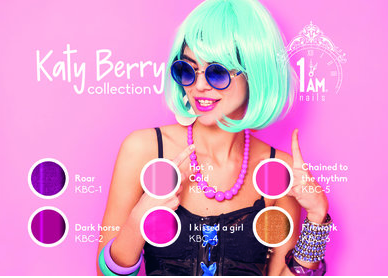 Katy Berry Collection + free cuticle oil
