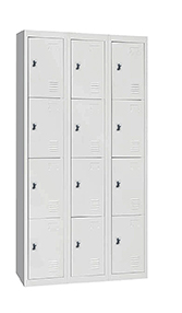 STL-G108 12 Door Steel Locker Cabinet