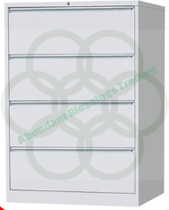 FC-4L 4 Drawer Lateral Filing Cabinet
