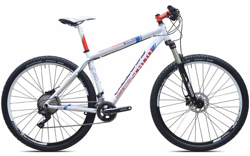 Competition 26/27/29er Deore XT + Disc 22 Speed  vanaf € 999,-