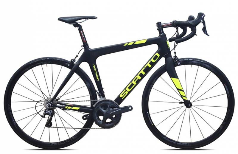 Night Train Customized 105 11 Speed  vanaf € 1999,- HM MONOCOQUE CARBON