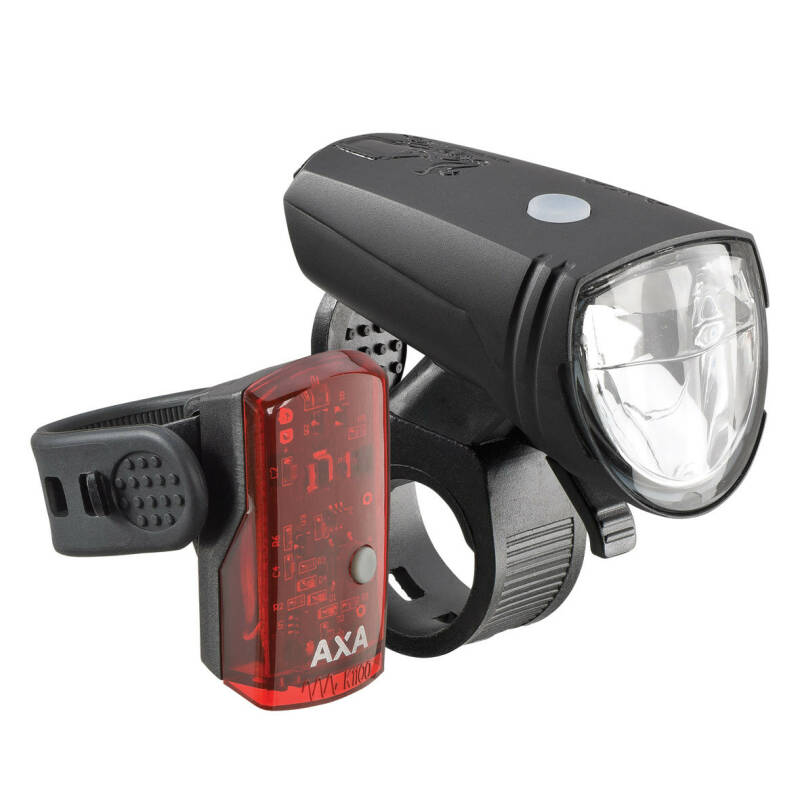 AXA verlichtingsset Greenline 15 USB 15 lux / 1 LED on/off