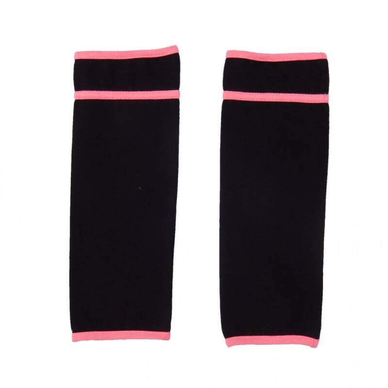 Lovestation22 Trendy sox  neon pink &black