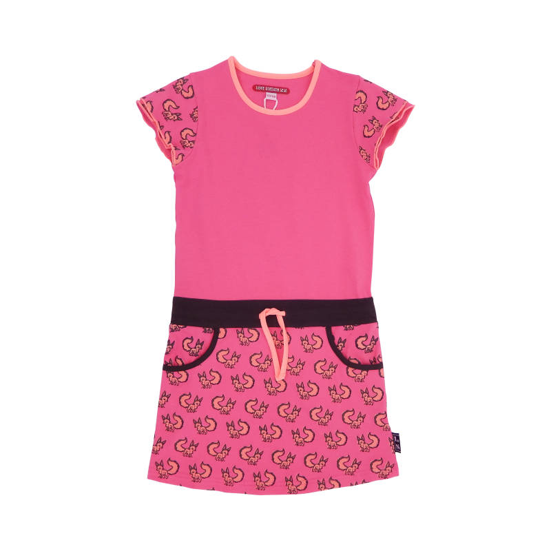 LS22 Dress Oprah-Pink