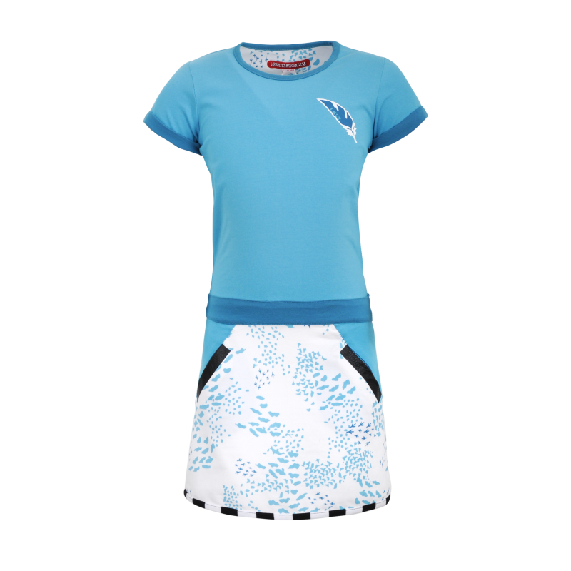 S21 LS22 Dress Nilou Scuba  Blue