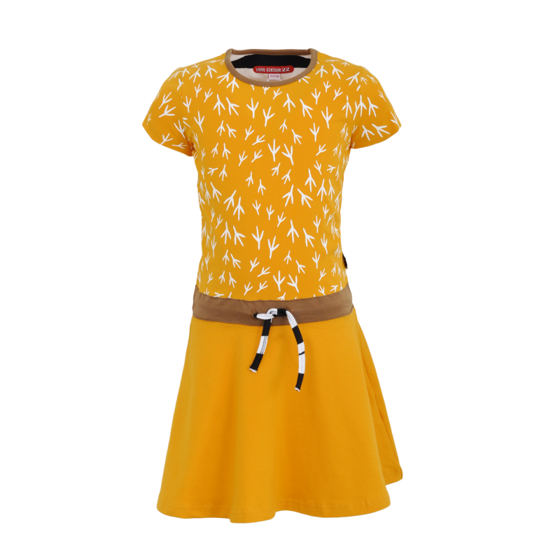 S21 LS22 Dress Nishrin Yellow