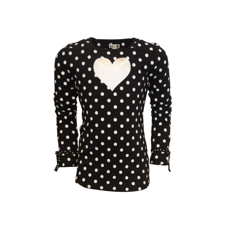 W20 Longsleeve Shirt Tape Black dot small