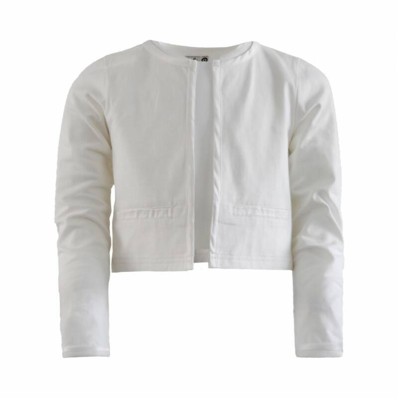 C '21 pretty jacket off-white