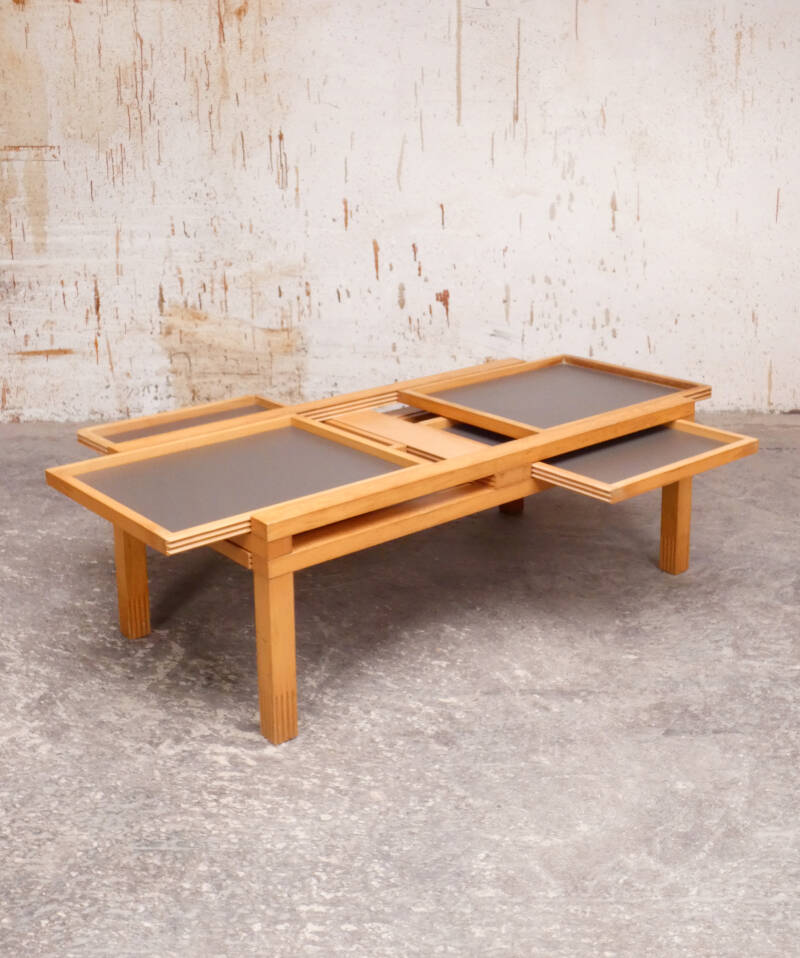 Bellato coffee table by Bernard Vuarnesson